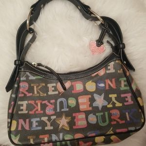 Colorful small Dooney & Bourke purse